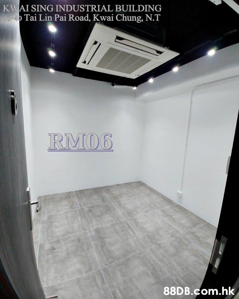 KWAI SING INDUSTRIAL BUILDING 36-40 Tai Lin Pai Road, Kwai Chung, N.T RM06 .hk  Property,Ceiling,Room,Floor,Luxury vehicle