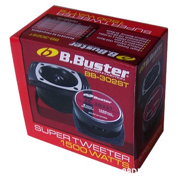 B.Buster N BB-3028T Bster 10 SUPER T WEETER 1500 WATTS 8D  Tire,Automotive tire,Automotive wheel system,