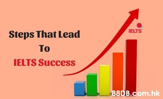 IELTS Steps That Lead To IELTS Success .hk  Text,Product,Font,Graphic design,Line