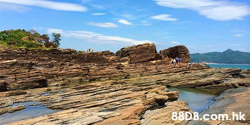 88D B.com.hk  Rock,Natural landscape,Coast,Formation,Outcrop