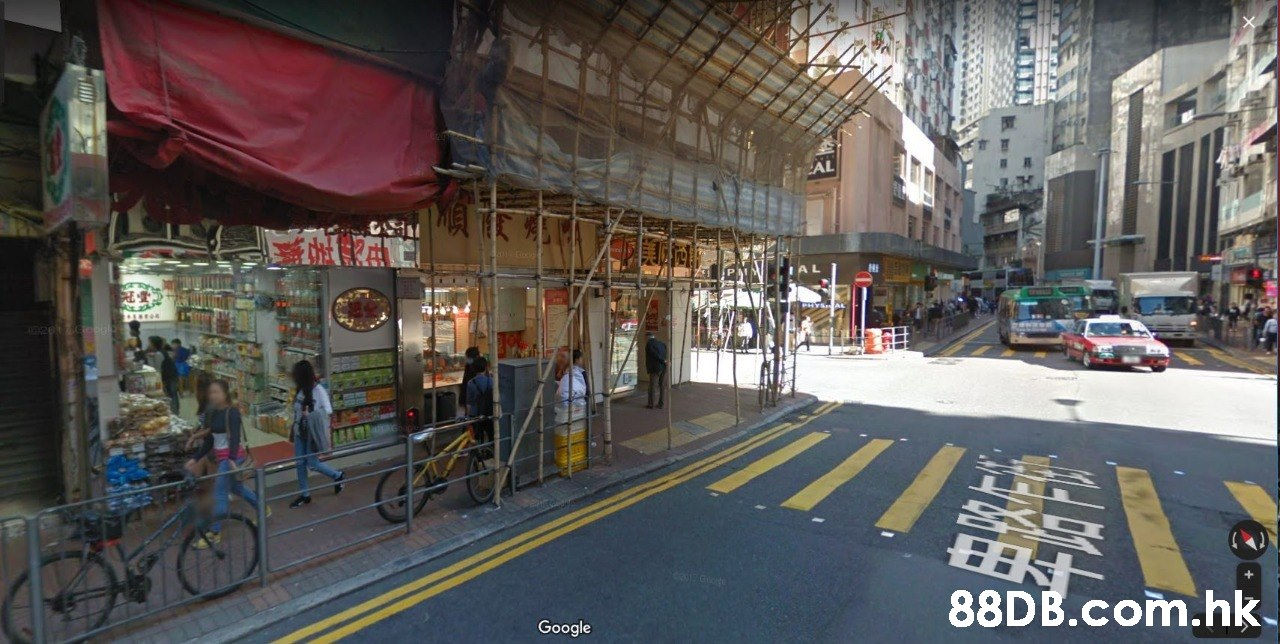 MAT 88D B.com.hk Google  Town,Street,Transport,Urban area,Building