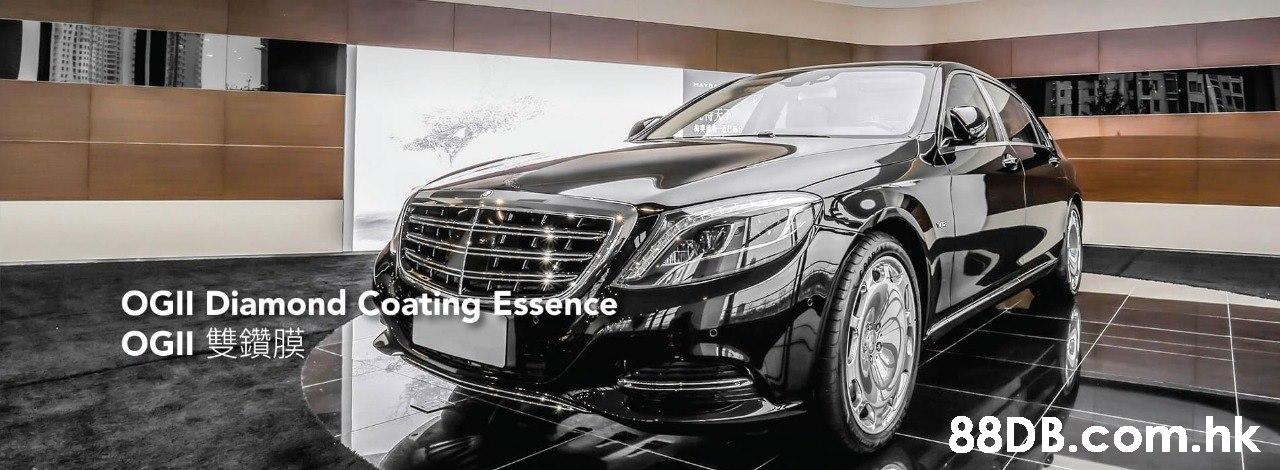 OGII Diamond Coating Essence OGII .hk  Vehicle,Motor vehicle,Luxury vehicle,Automotive design,Car