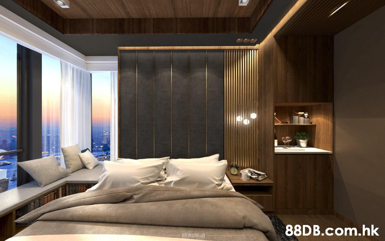 .hk TOO DESIGN LAB  Bedroom,Room,Interior design,Furniture,Ceiling
