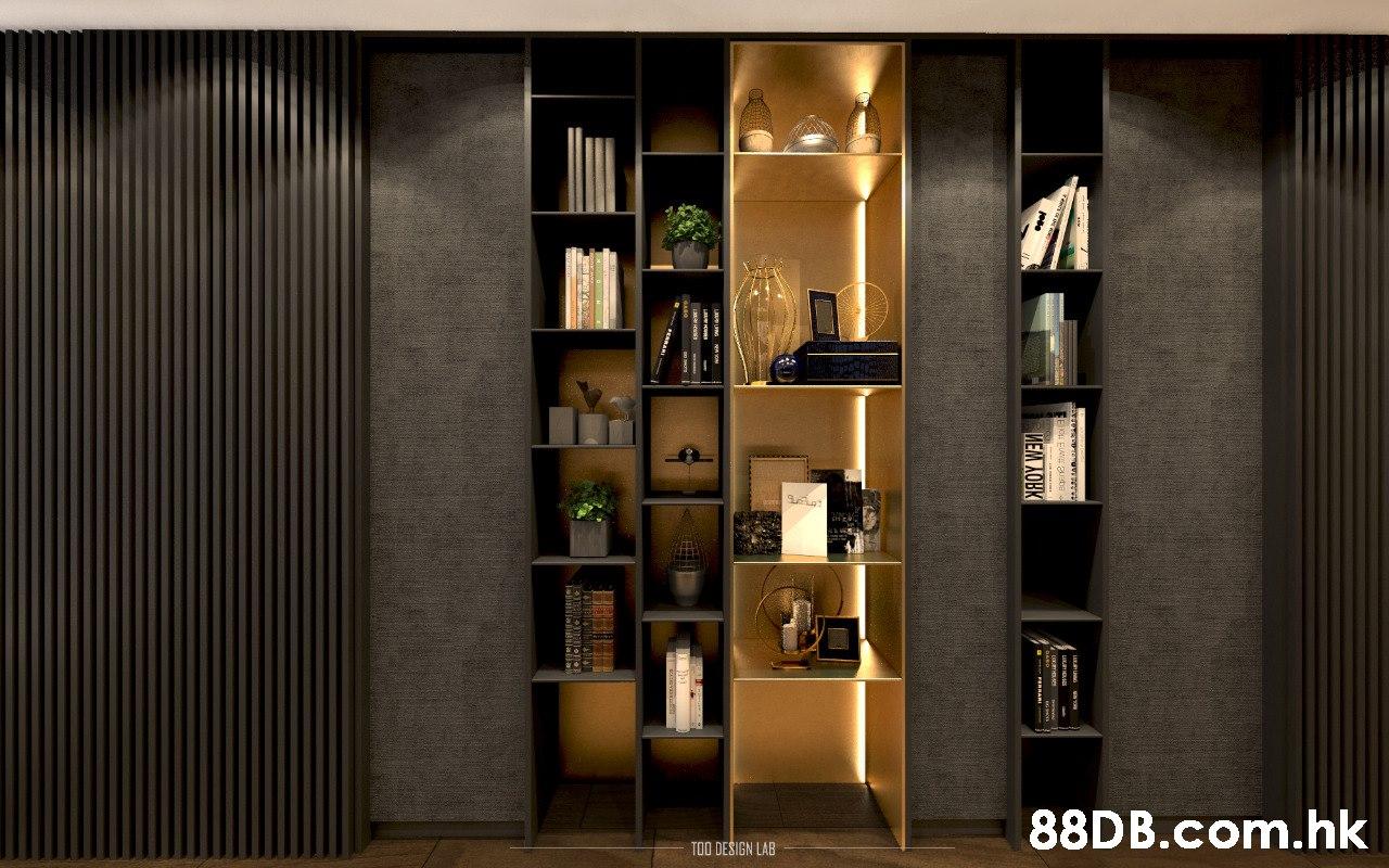 .hk TOO DESIGN LAB  Shelf,Furniture,Shelving,Room,Interior design