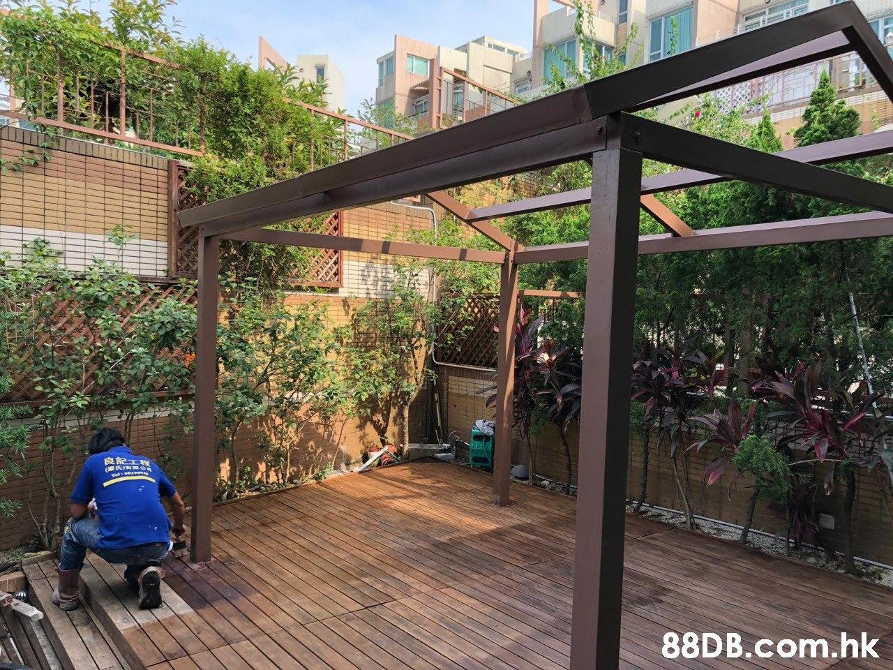 良記工程 .hk  Property,Deck,Pergola,Real estate,Roof