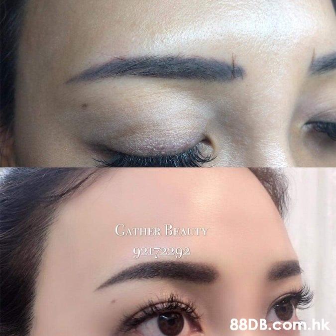 GATHER BEAUTY 92172292 .hk  Eyebrow,Eyelash,Eye,Face,Eye shadow