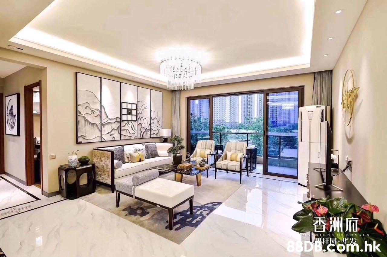 香洲麻 .hk SONS ROY ALS 桂园:  Property,Interior design,Room,Living room,Building