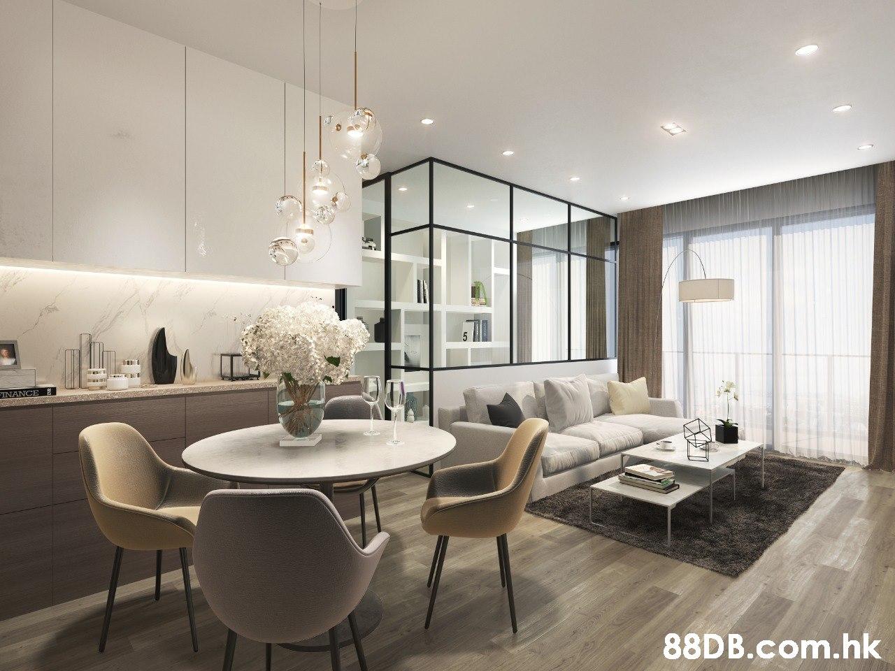 INANCE .hk  Room,Interior design,Property,Furniture,Ceiling