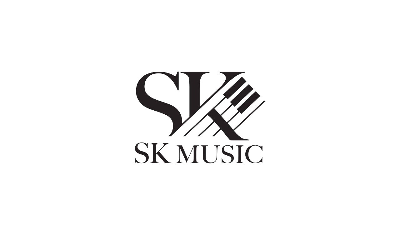 SK MUSIC  Logo,Text,Font,Line,Brand