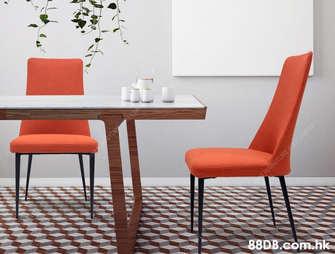 FURNITURE O LIMITED .hk  Furniture,Chair,Orange,Room,Table