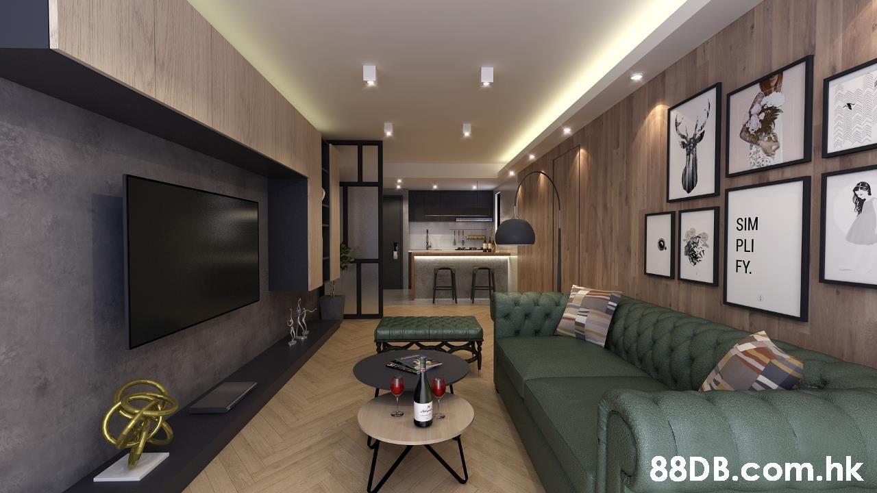 SIM PLI FY. TRTTEMITIEM NCERD IOIN .hk  Living room,Interior design,Room,Property,Furniture