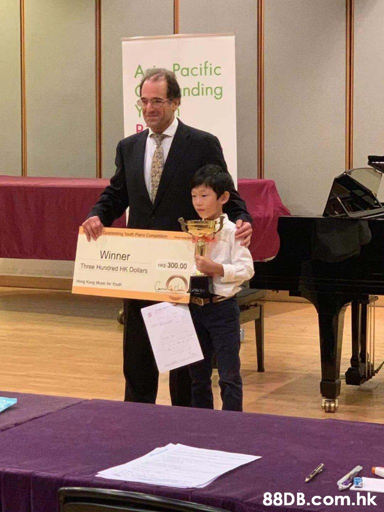 A Pacific nding Outstanding Youth Pano Competton Winner HK$ 300.00 Three Hundred HK Dollars Hong Kong Musi for Youth र .hk  Recital,Pianist,Event,Musician,Piano