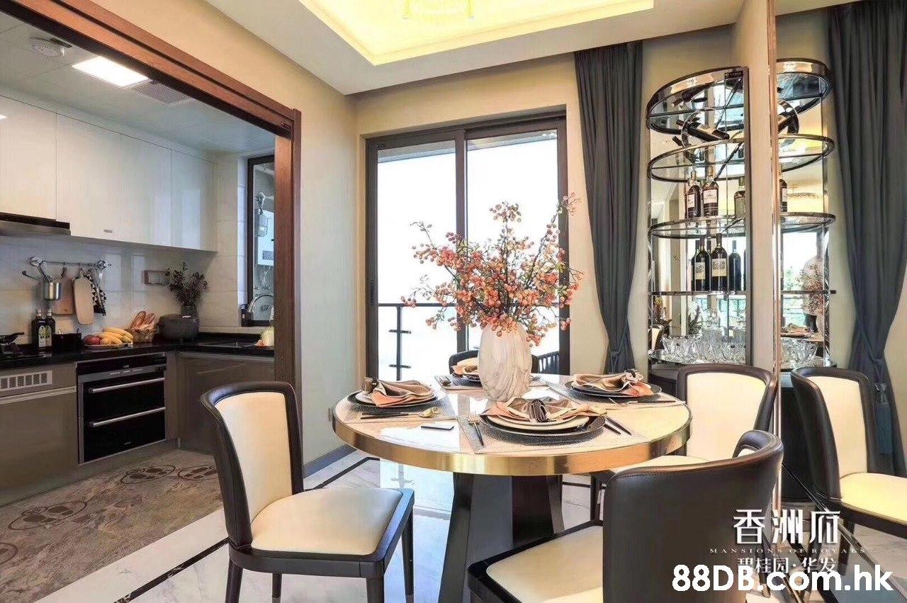 香洲师 88DB com.hk MANSIONS OR 日柱园  Room,Property,Dining room,Interior design,Furniture