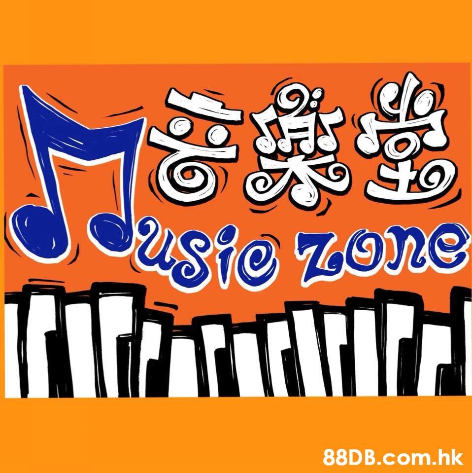 Usie zone .hk  Text,Font,Orange,Line,