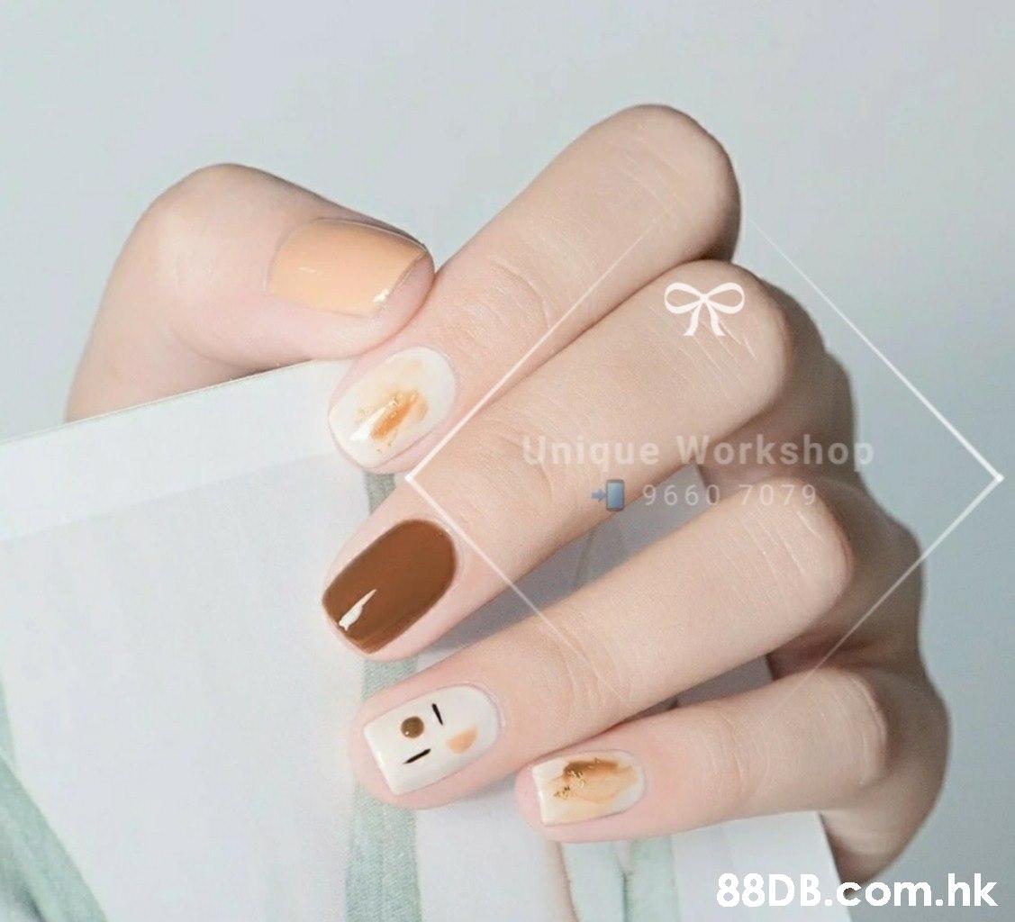 Unique Workshop 9660 7079 .hk  Nail,Nail polish,Finger,Manicure,Nail care