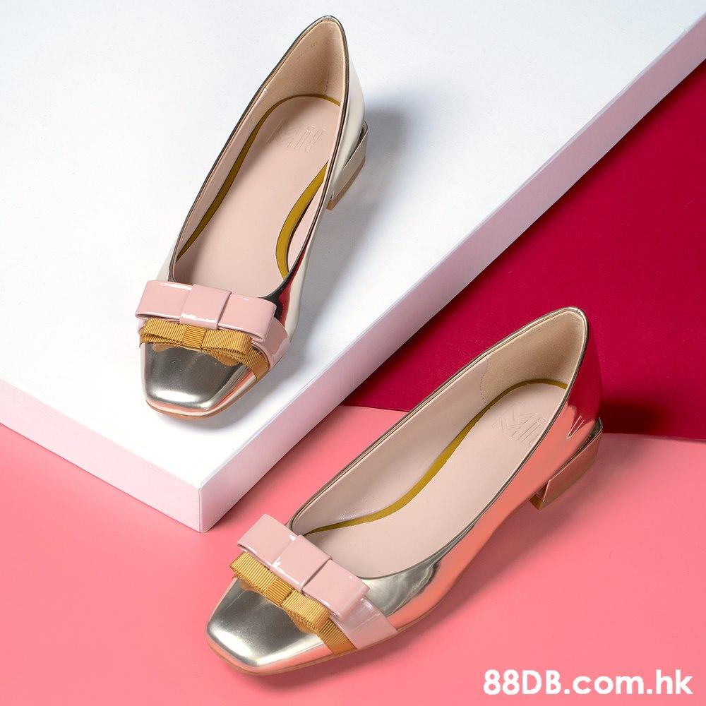 .hk  Footwear,Shoe,Pink,Ballet flat,High heels