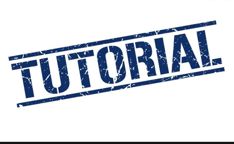 TUTORIAL  Text,Font,Logo,Electric blue,Brand