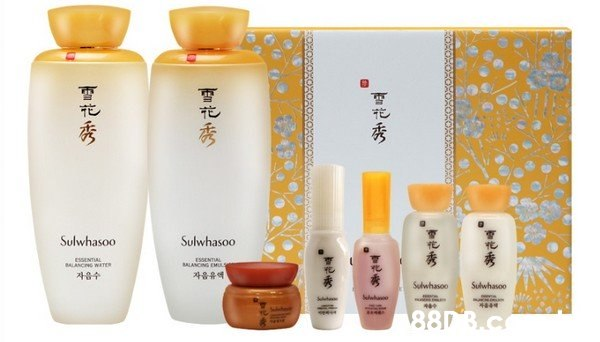 Sulwhasoo Sulwhasoo ESSENTIAL BALANCING EML ESSENTIAL BALANCNG WATER 자음유액 자음수 Sulwhasoo Sulwhasoo 880 3.c 花秀  Product,Beauty,Skin care,Cosmetics,Material property