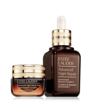 ESTEE LALLER ESTEE LAUDER Advanced Night Repair Synchronized Recovery Complex Complese de réparation synchonisée ESTEE LAUDER Advanced Night Repair Eye Supercharged Complex Symceied Recoven  Product,Beauty,Skin,Brown,Skin care