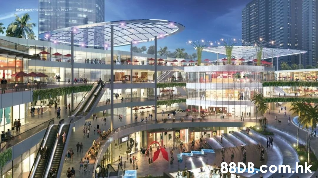 ZHONG SHAN /Ha Megn Mal///24 .hk  Metropolitan area,Building,Shopping mall,Mixed-use,Commercial building