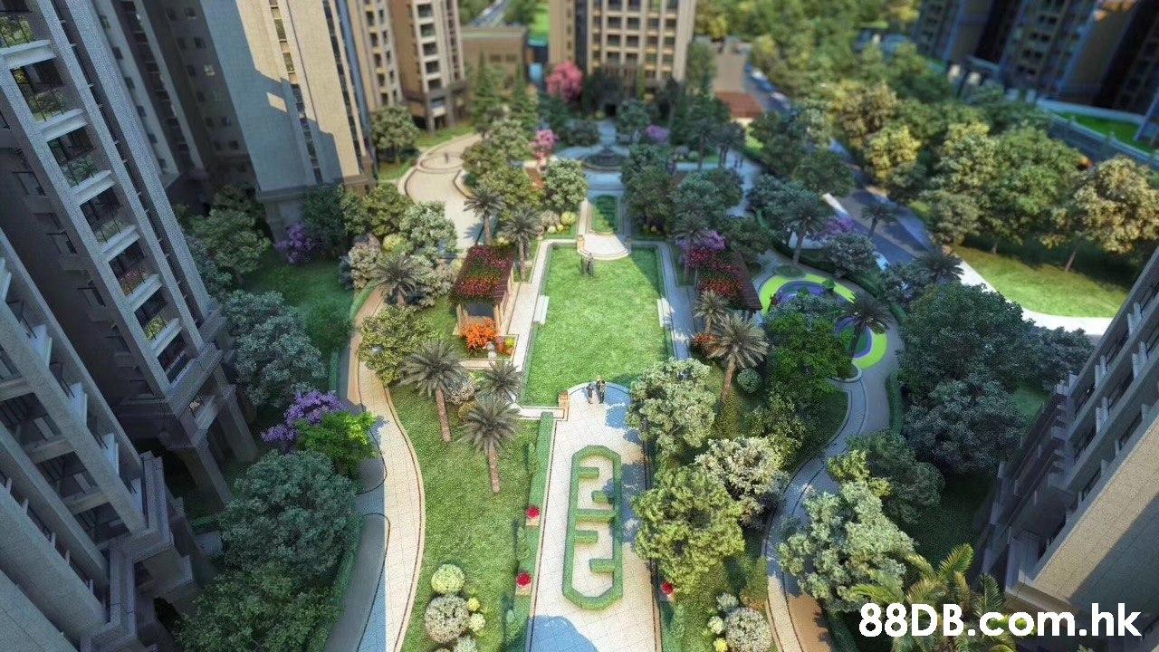 .hk  Nature,Garden,Property,Scale model,Urban design