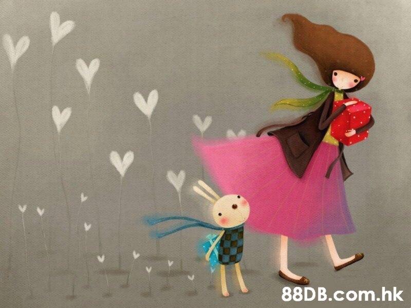 .hk  Pink,Illustration,Toy,Doll,Art