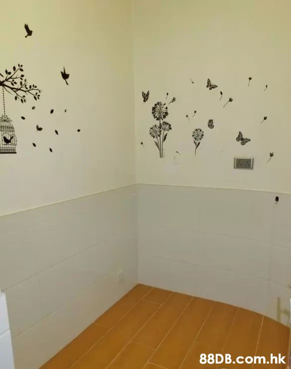 .hk  Wall,Wall sticker,Room,Floor,Flock