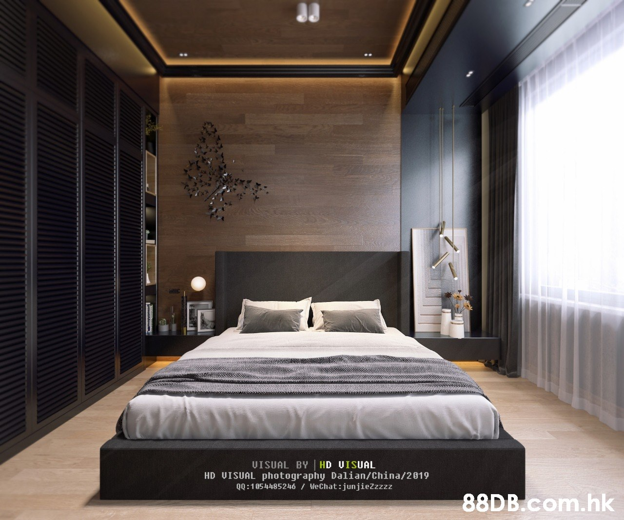 33 VISUAL BY HD UISUAL HD VISUAL photography Dalian/China/2019 QQ:1054485246 / WeChat:junjiezzzzz .hk  Bedroom,Bed,Interior design,Room,Furniture