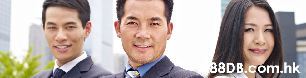 .hk  Chin,White-collar worker,Businessperson,Forehead,Smile