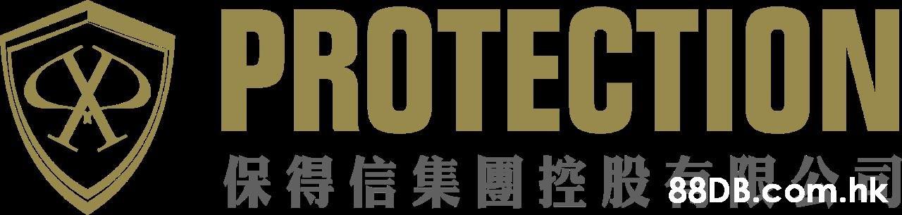 X PROTECTION 保得信集團控股 68DBicom.nk  Font,Text
