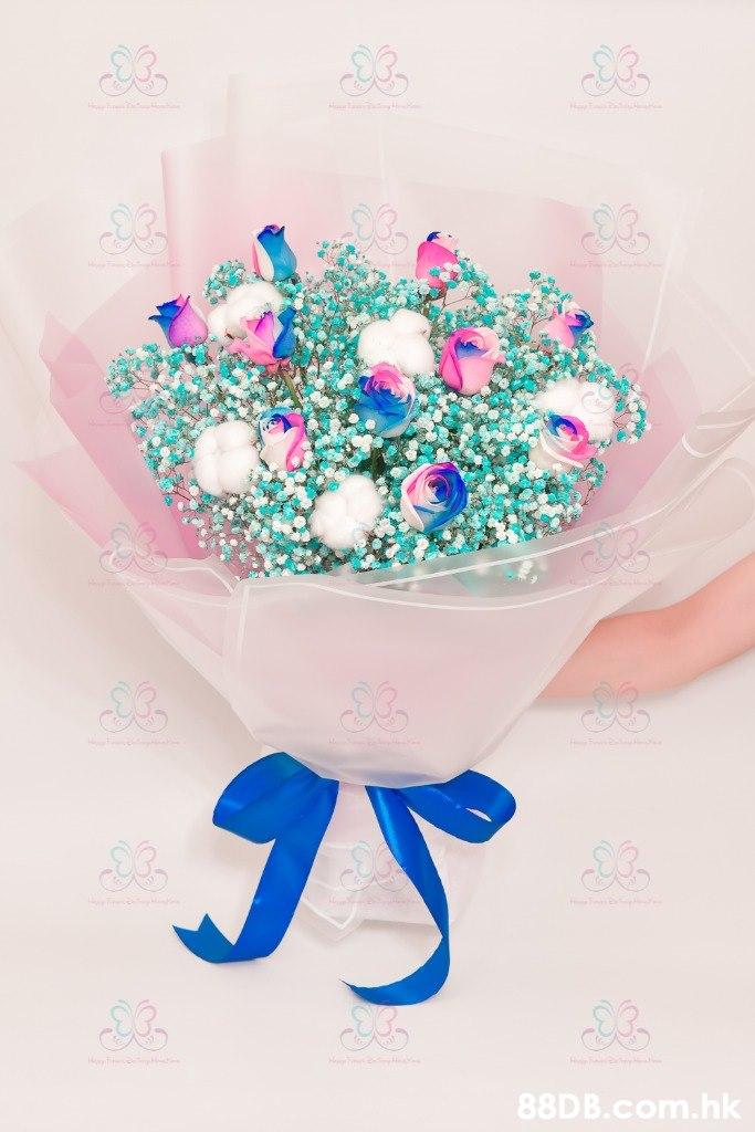 .hk  Bouquet,Pink,Turquoise,Aqua,Flower