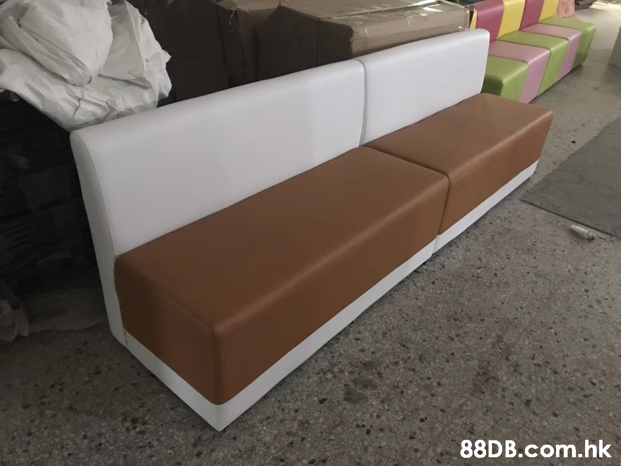.hk  Couch,Furniture,Sofa bed,studio couch,Brown