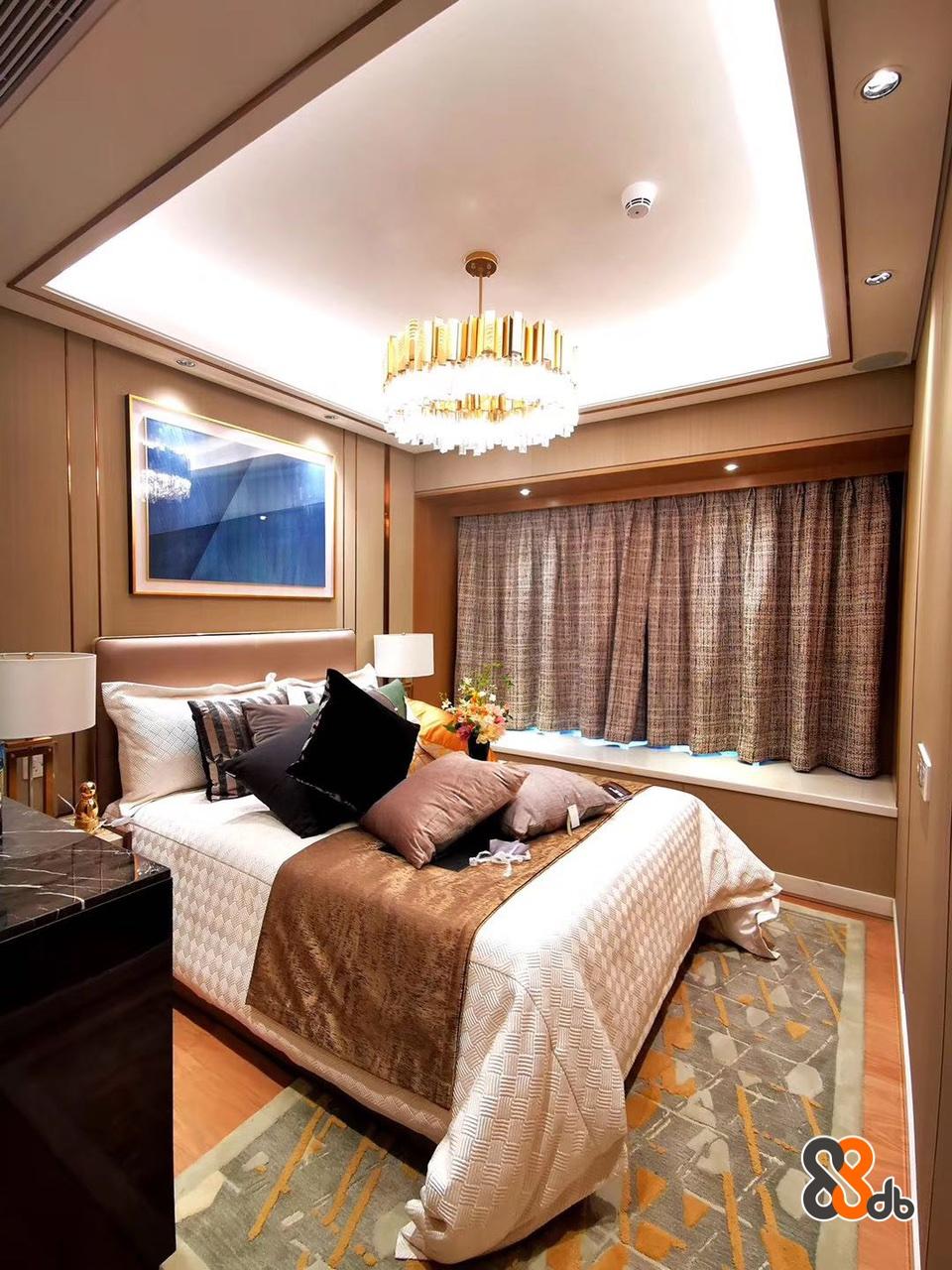 Bedroom,Room,Ceiling,Furniture,Interior design