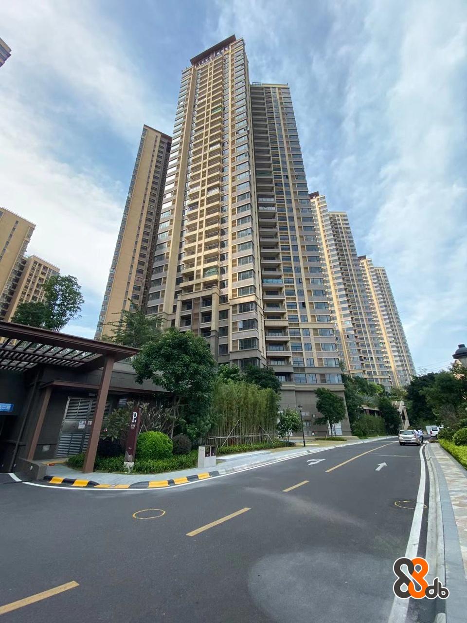 Metropolitan area,Condominium,Tower block,Building,Urban area