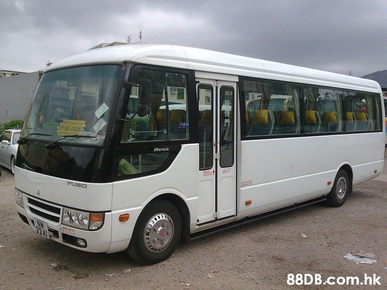 ROSA FUSO .hk  Land vehicle,Bus,Vehicle,Transport,Mode of transport