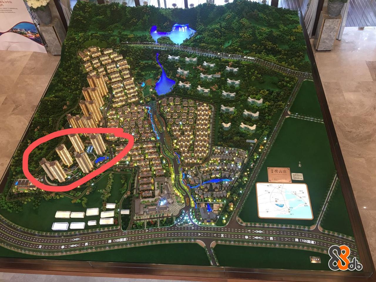 路(105国道  Urban design,Bird's-eye view,Plan,Strategy video game,