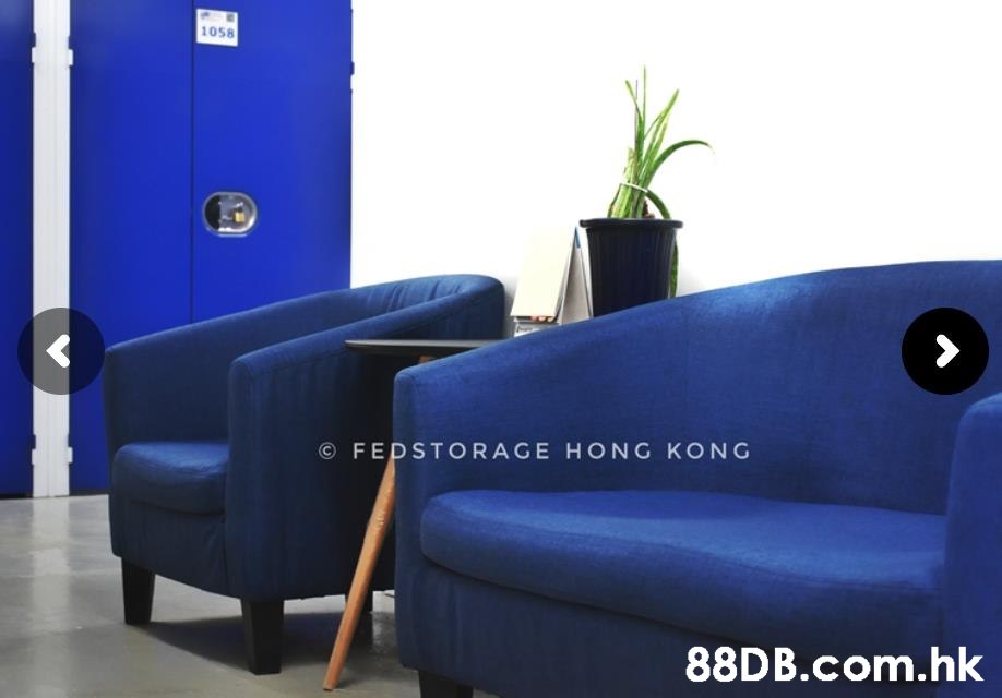 1058 © FEDSTORAGE HONG KONG .hk  Furniture,Blue,Property,Product,Room
