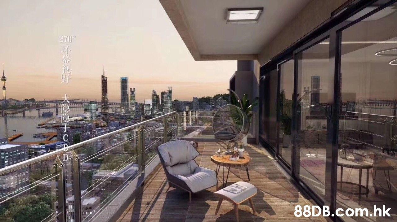 270° D. .hk  Property,Building,Real estate,Condominium,Apartment