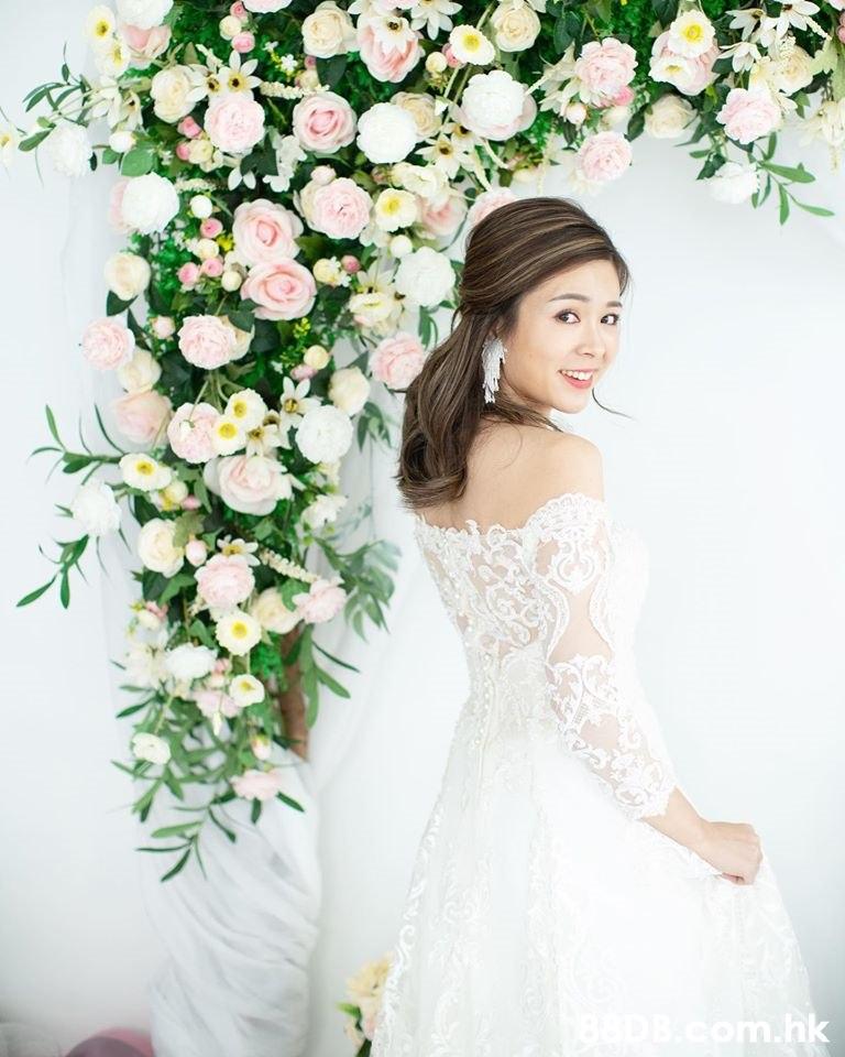 .hk  White,Photograph,Wedding dress,Dress,Bride