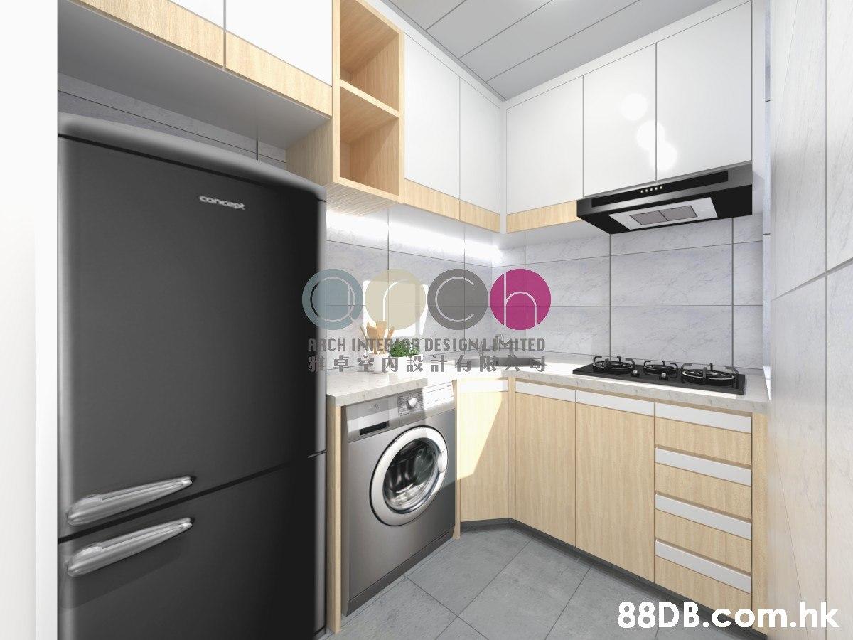 concept ARCH INTERAOR DESIGN LIMITED 雅卓室內設計有限哥 .hk  Property,Room,Cabinetry,Major appliance,Furniture