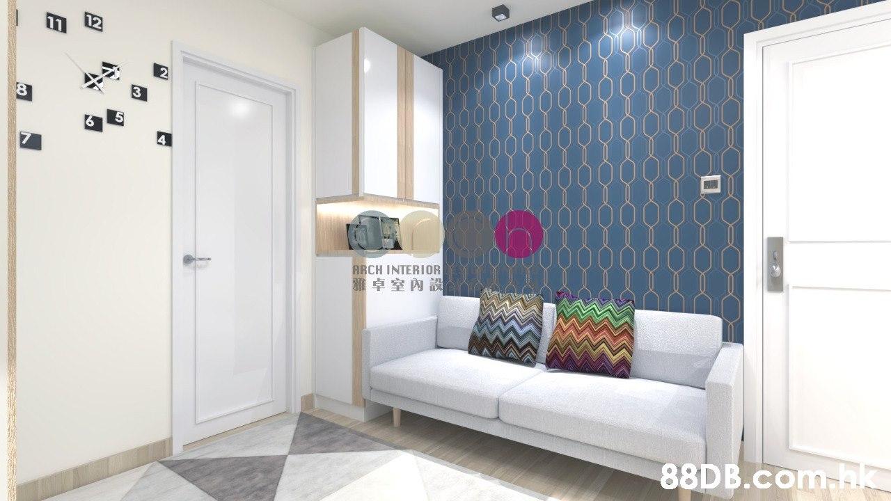 8. ARCH INTERIOR 雅卓室內設 .hk  Property,Room,Interior design,Furniture,Living room