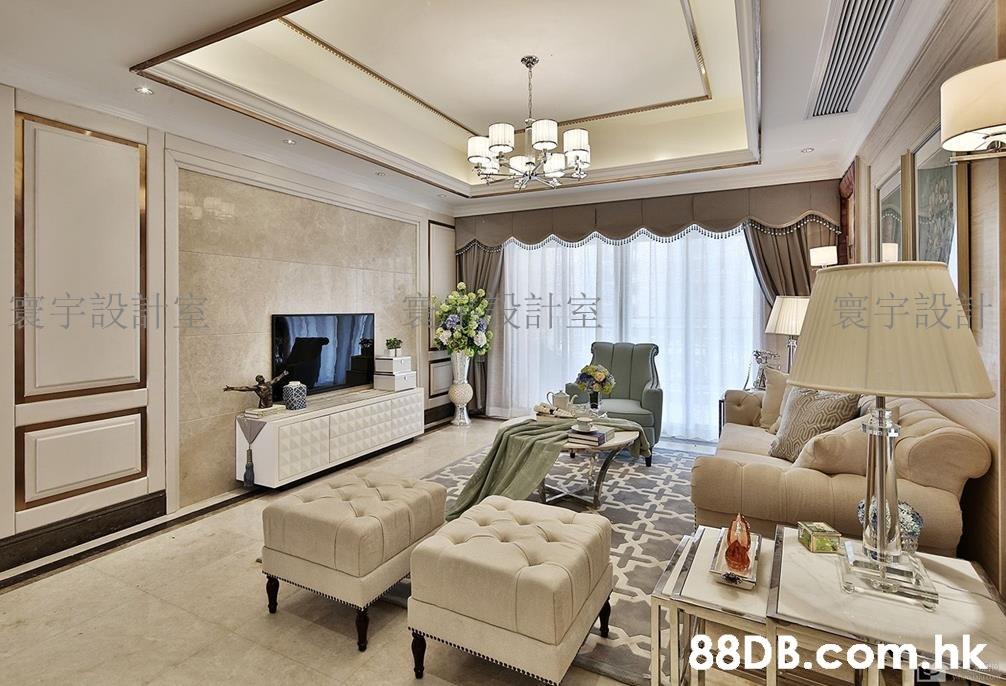 寰宇設計 宇設黨 計室 . .hk  Living room,Ceiling,Room,Interior design,Furniture