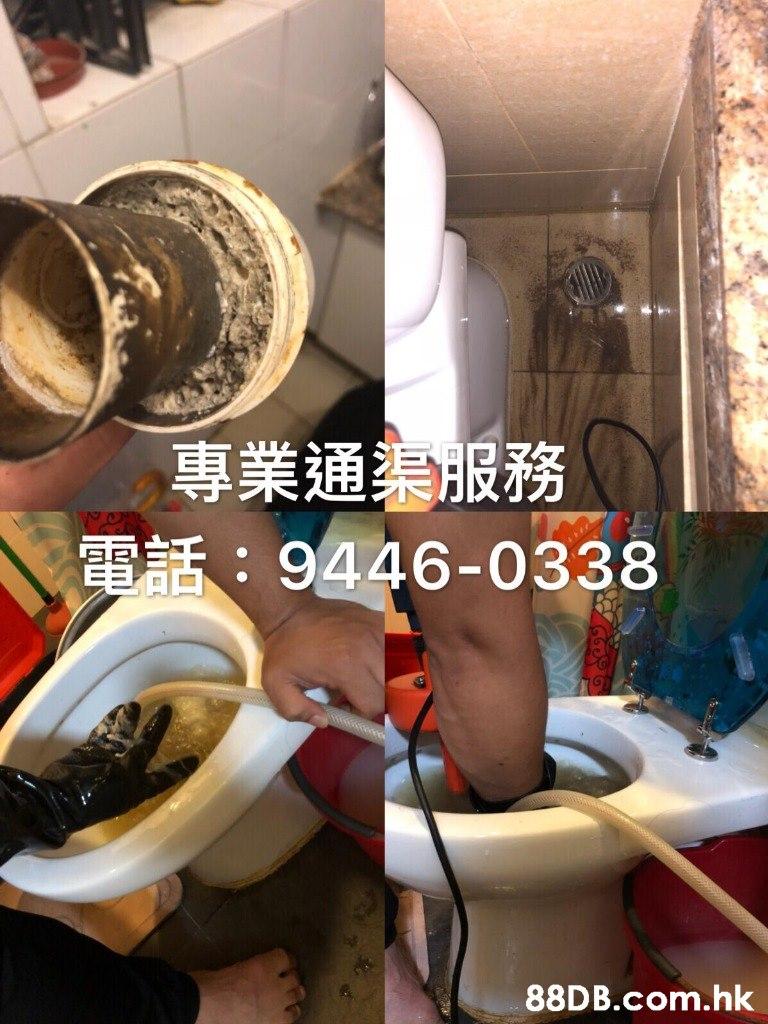 專業通為服務 DE: 9446-0338 .hk  Toilet seat,Toilet,Room,Plumbing fixture,