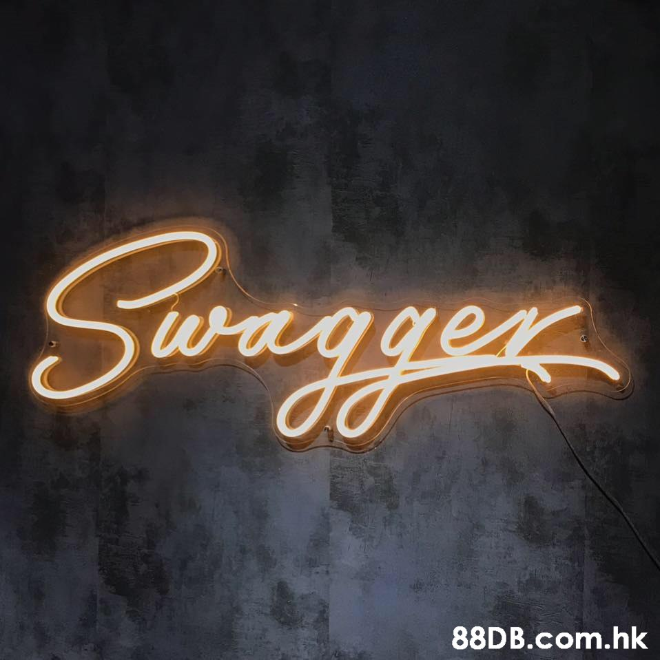 Swagger .hk  Text,Font,Calligraphy,Electronic signage,Neon