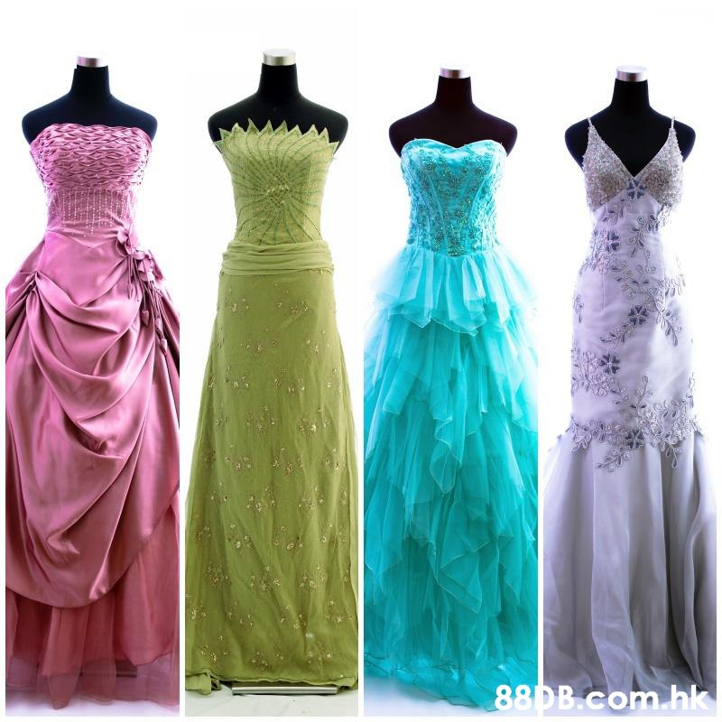 .hk  Dress,Clothing,Gown,Bridal party dress,Purple