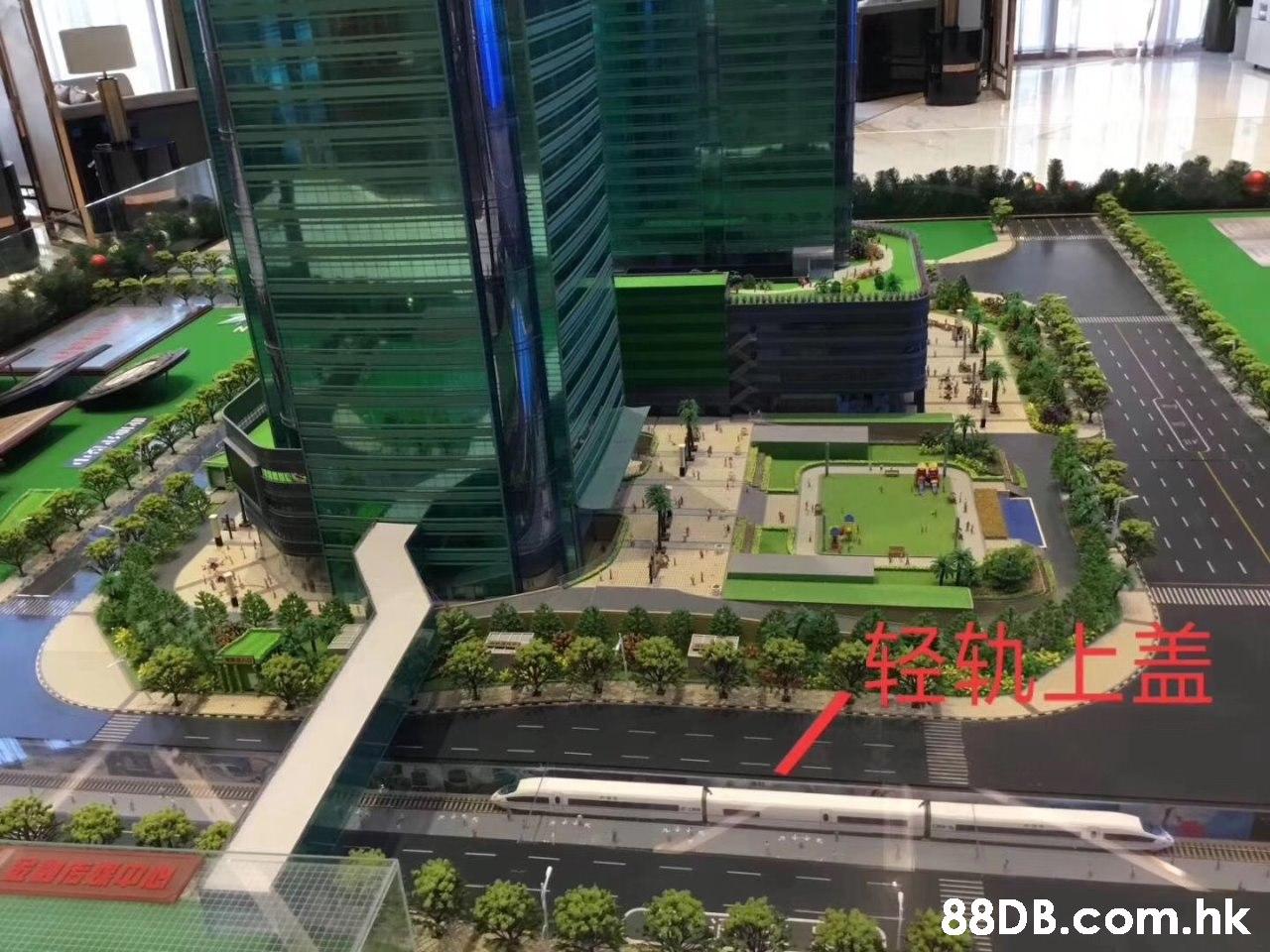 .hk HE  Scale model,Urban design,Architecture,Condominium,Building