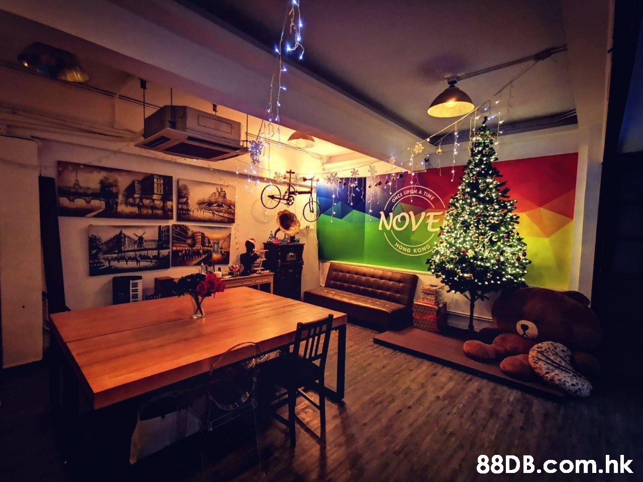 ONCE OPDA A TIME NOVE HONG KONG .hk  Interior design,Sky,Room,Lighting,Building