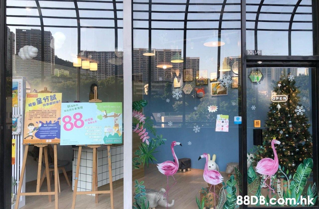 10.1/F 親藝呈分試 新省即內 OPEN AKTore so Ho 188 EAR 6855 4963 .hk  Building,Window,