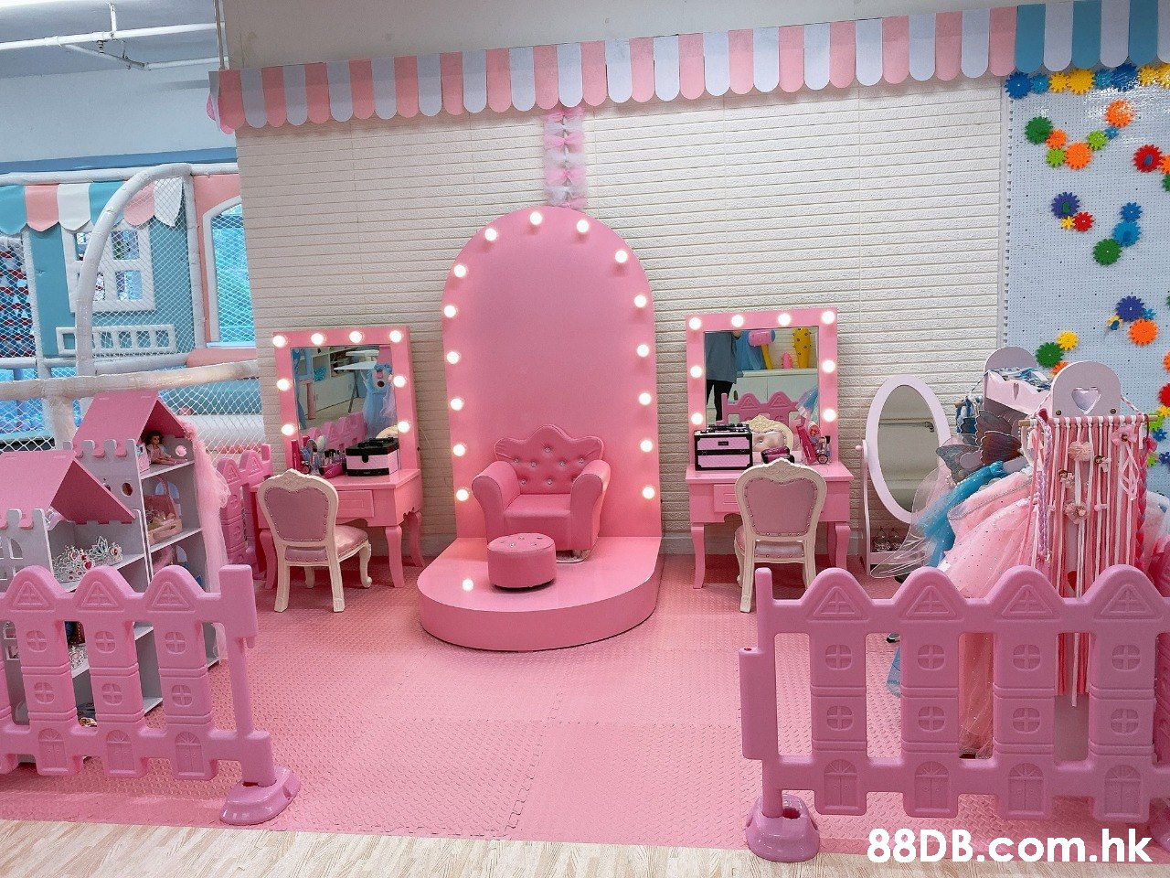 .hk  Pink,Decoration,Toy,Playset,Room