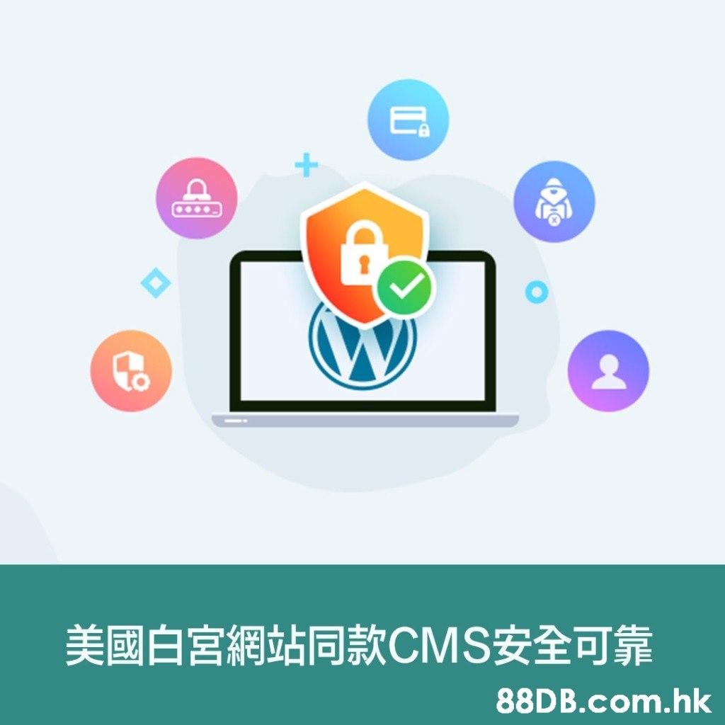 美國白宮 網站同款CMS安全可靠 .hk  Product,Logo,Text,Font,Line
